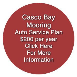 Casco Bay Mooring | Casco Bay Maine